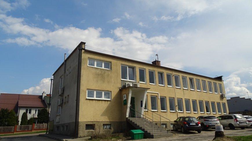 Zdjęcie budynku administracyjnego przy ul. Targowej w Zwoleniu