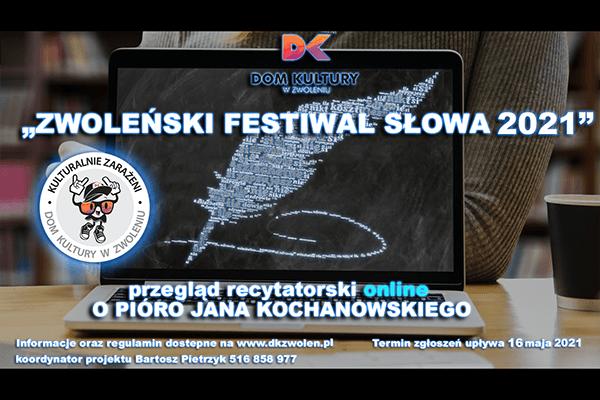Zwoleński Festiwal Słowa o Pióro Jana Kochanowskiego rozstrzygnięty