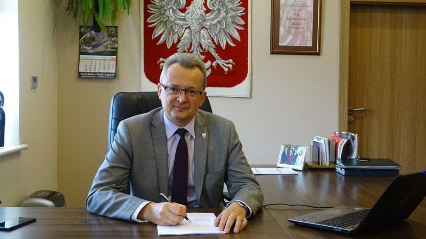 Burmistrz Zwolenia Arkadiusz Sulima podsumowuje rok 2020